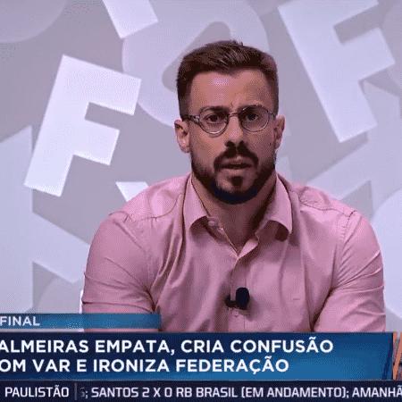 Felippe Facincani, comentarista dos canais Fox Sports - Reprodução