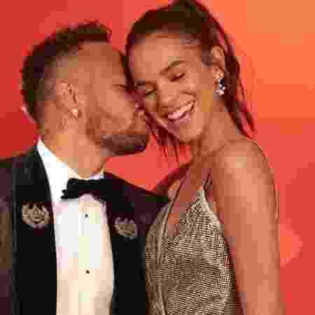 Bruna Marquezine e Neymar em um dos últimos registros juntos antes do fim do namoro -  -