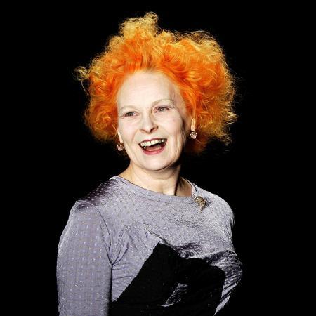 A diva punk e estilista britânica Vivienne Westwood -