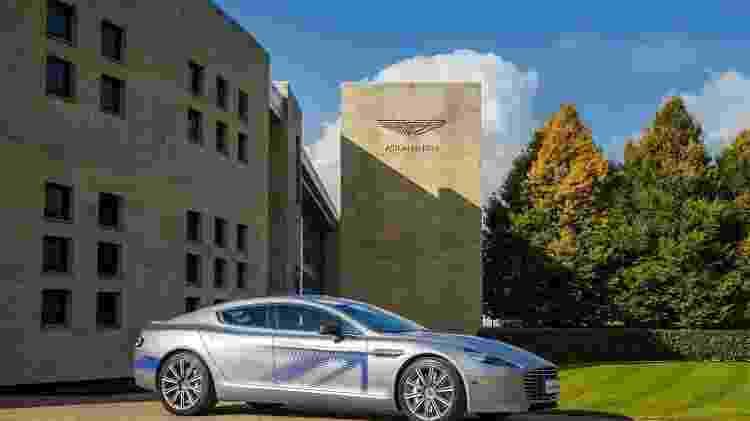 Aston Martin Rapide E - Divulgação