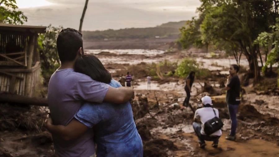 Trecho atingido por lama na região de Brumadinho (MG) - Cadu Rolim/Fotoarena/Estadão Conteúdo