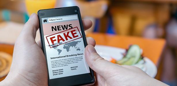 Notícias falsas se disseminam rapidamente pela internet