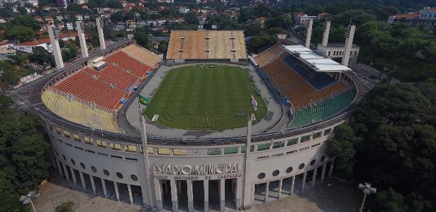 Pacaembu será palco do clássico entre São Paulo e Santos neste fim de semana -