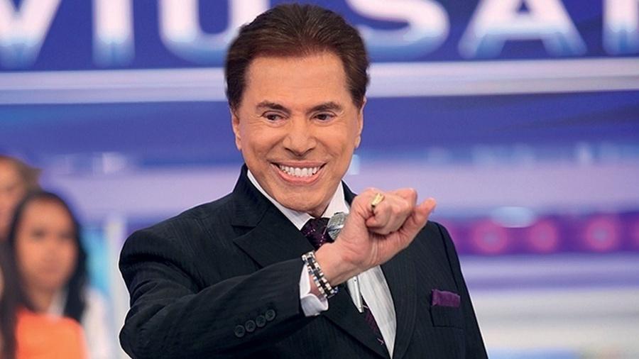 Silvio Santos provocou o funcionário Dudu Camargo durante gravação no SBT ontem - false