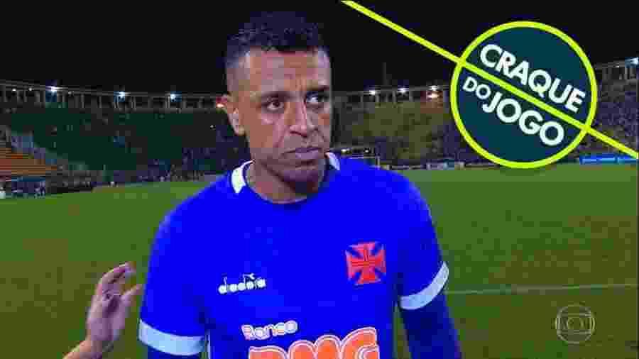 Goleiro Sidão esteve no meio da grande polêmica do futebol brasileiro no último fim de semana - Reprodução