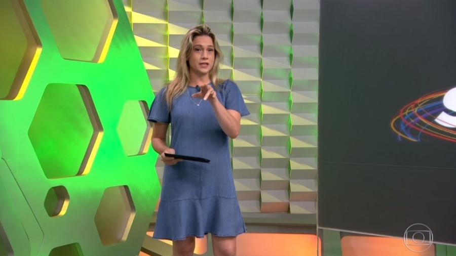 Fernanda Gentil já é do Entretenimento da Globo -