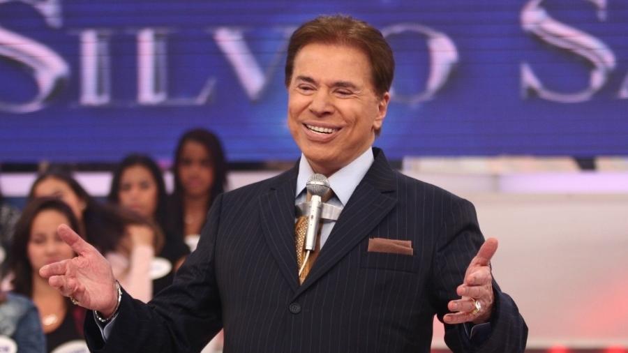 Silvio Santos rindo à toa com a audiência do SBT à frente da Record - false