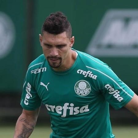 Moisés nos tempos em que defendia o Palmeiras -