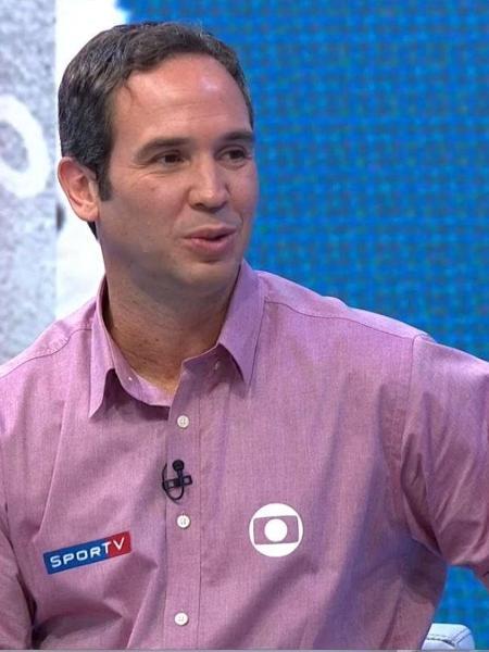 Caio Ribeiro, comentarista do Grupo Globo, testou positivo para covid-19 em julho - Reprodução