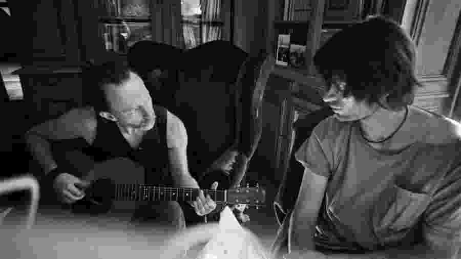 Thom Yorke e Johnny Greenwood do Radiohead se preparam para voltar ao Brasil  -