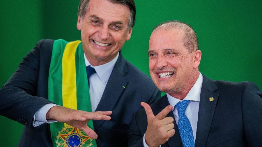 Onyx Lorenzoni foi nomeado novo ministro do Trabalho e Previdência pelo presidente Jair Bolsonaro - Eduardo Anizelli Folhapress
