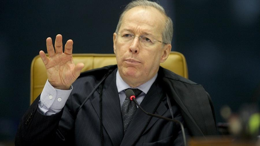 O ministro Celso de Mello, decano do Supremo Tribunal Federal -