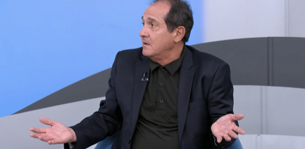Muricy Ramalho é um dos comentaristas do canal SporTV