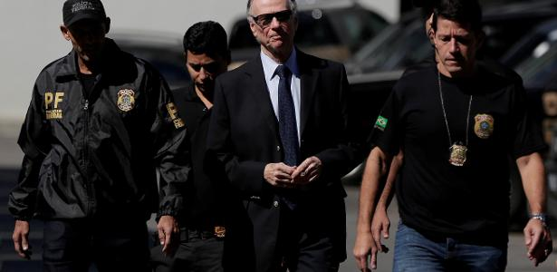 19.out.2017 - Nuzman foi preso na Operação Unfair Play - false