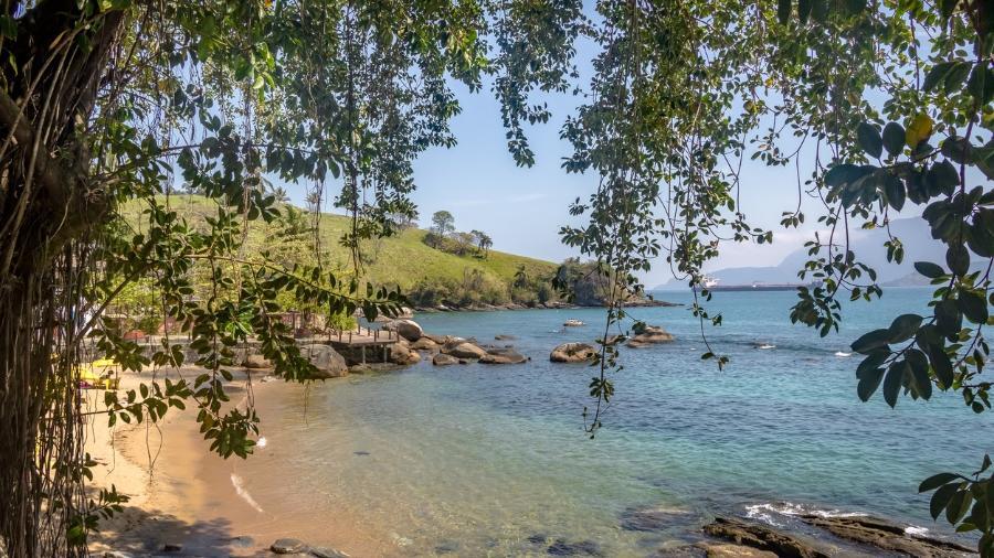 Praia do Portinho, em Ilhabela  - false