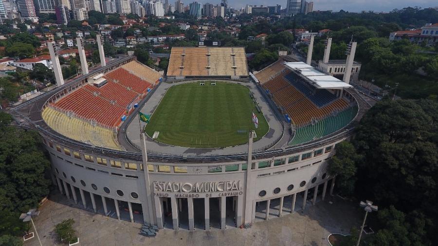 Estádio Municipal recebe São Paulo x Fortaleza daqui a 20 dias - false