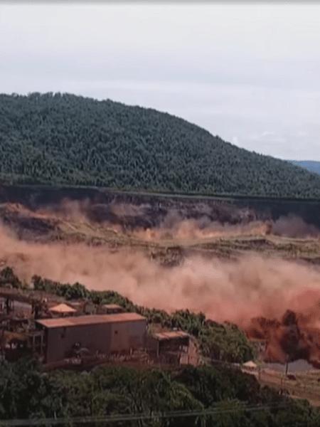 Rompimento barragem de Brumadinho -