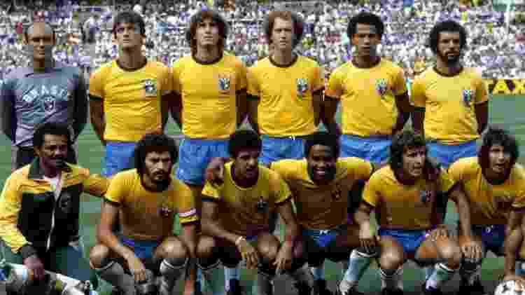 Seleção brasileira de 82 contava com craques como Falcão, Zico e Cerezo -  -