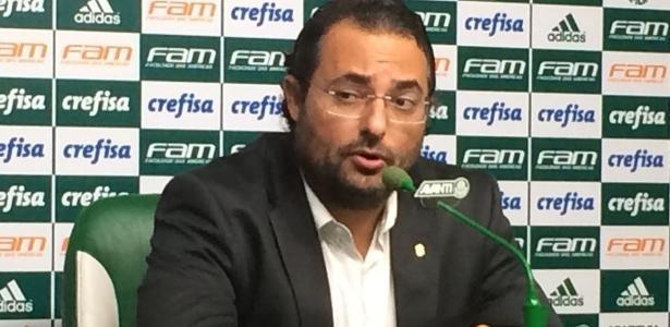 O diretor de futebol do Palmeiras, Alexandre Mattos