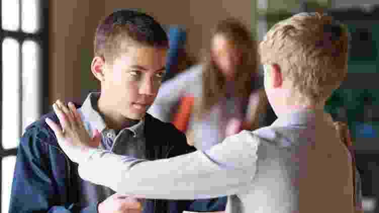 briga; bullying; escola - iStock - iStock