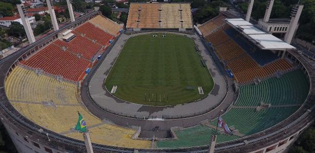 Pacaembu receberá Palmeiras x Coritiba na próxima segunda-feira