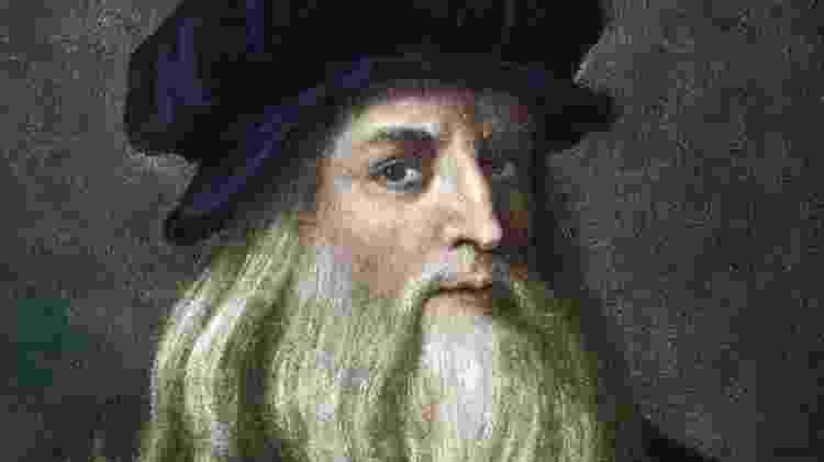 Retrato de Da Vinci -