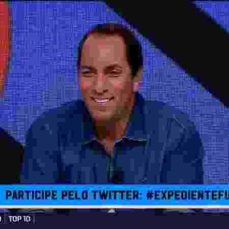 Edmundo, comentarista dos canais Fox Sports -