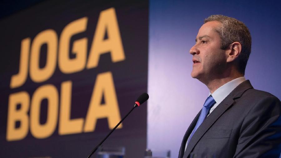 Rogério Caboclo, presidente da CBF, prometeu acabar com Brasileiro em datas Fifa - Divulgação