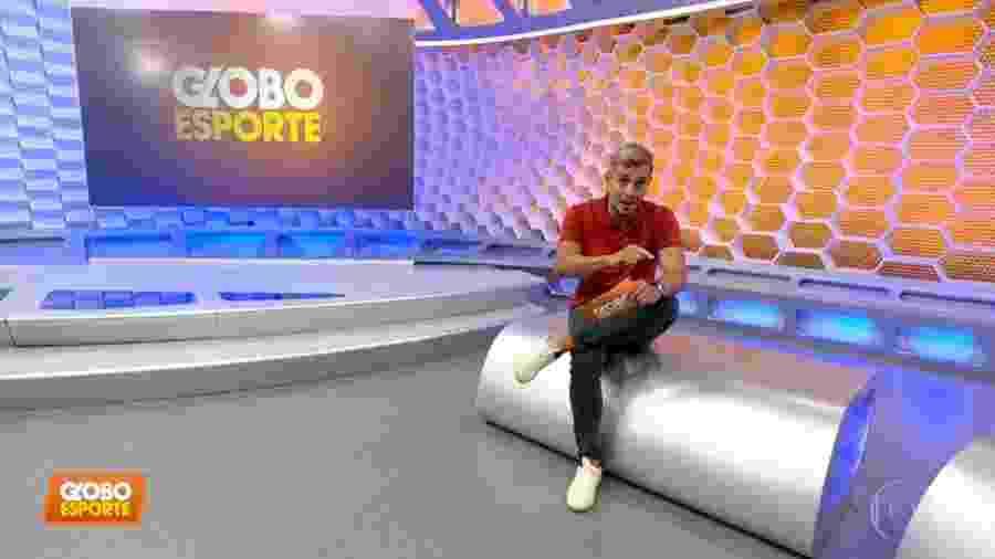 """Ivan Moré irá deixar o comando da edição paulista do """"Globo Esporte"""" - ."""