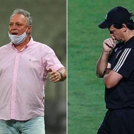 Abel Braga e Fernando Diniz: gangorra -
