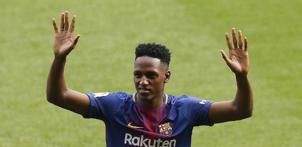 Everton chega a acordo com barcelona por yerry mina diz jornal false stopboris Choice Image