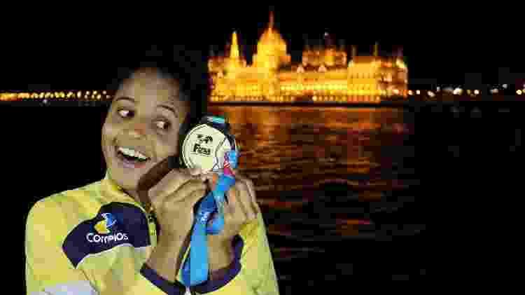 Etiene Medeiros, campeã mundial de natação - Divulgação/CBDA - Divulgação/CBDA