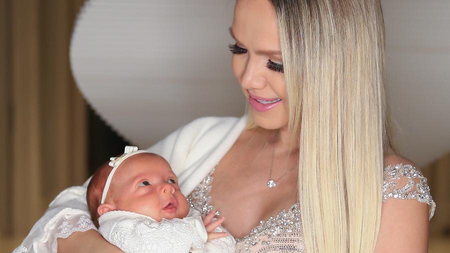 Eliana com a filha Manuela -