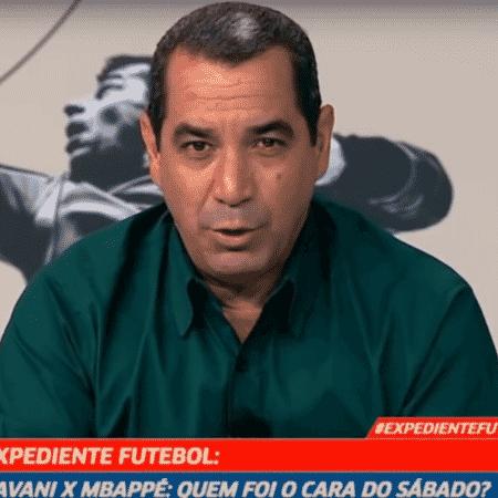 Zinho, comentarista dos canais Fox Sports - Reprodução
