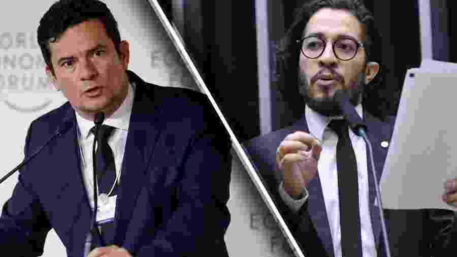 Sérgio Moro e Jean Willys  - Alan Santos/PR/Luis Macedo / Câmara dos Deputados
