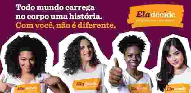 """""""Ela Decide Seu Presente e Seu Futuro"""" coloca mulheres e adolescentes no centro do debate sobre direitos no país - Reprodução/UNFPA"""