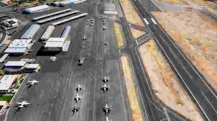 O governo Bolsonaro já mapeou mais 94 projetos, quase metade de aeroportos (44), que podem ser incluídos no PPI - Getty Images - Getty Images