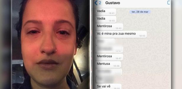 Jovem de 23 anos teve relato compartilhado milhares de vezes após agressão