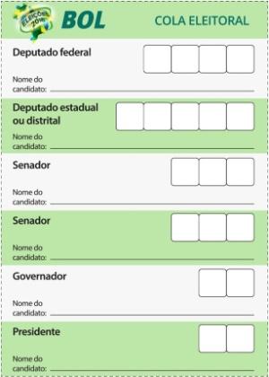 Data E Horário Das Eleições 2018 Ordem De Votação E Cola
