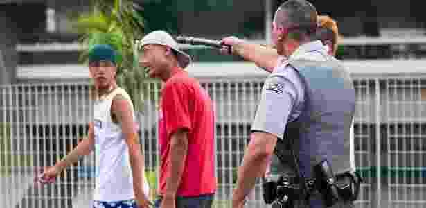 PM usa bombas e bala de borracha em  rolezinho  em São Paulo  vídeo ... e543c8fd10