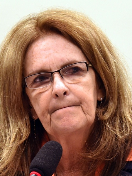 Graça Foster, ex-presidente da Petrobras - Evaritos Sa/AFP