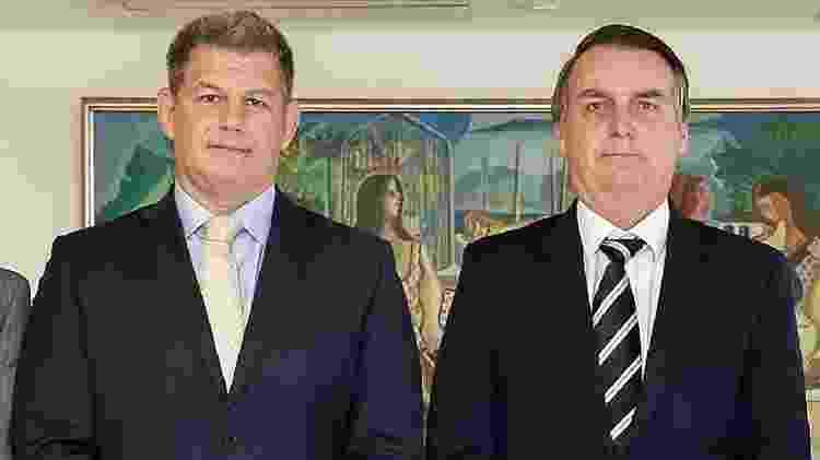 Bebianno e Bolsonaro - Alan Santos/PR - Alan Santos/PR