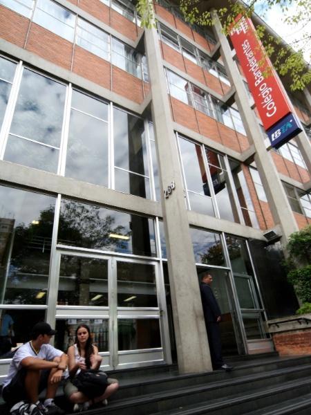 Fachada do Colégio Bandeirantes, em São Paulo - Marcelo Ximenes/Folha Imagem