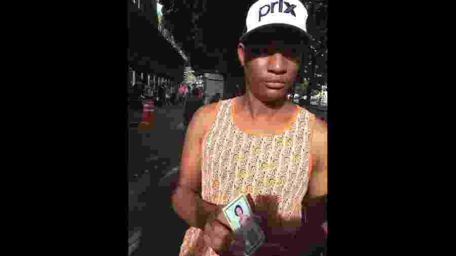 Helton Adriano Pereira procura por sua mulher após desastre em Brumadinho (MG) - Fernanda Odilla/BBC