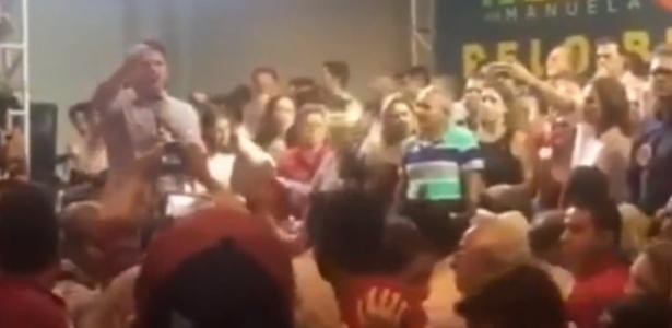 Cid Gomes critica o PT durante evento no Ceará