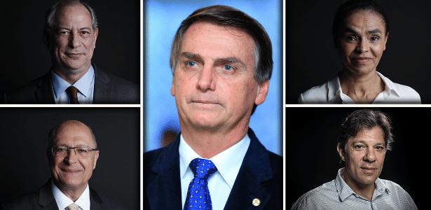 Resultado de imagem para Ibope: Bolsonaro tem 29% no RS; Haddad, Ciro Gomes e Alckmin embolados, entre 10 e 11%