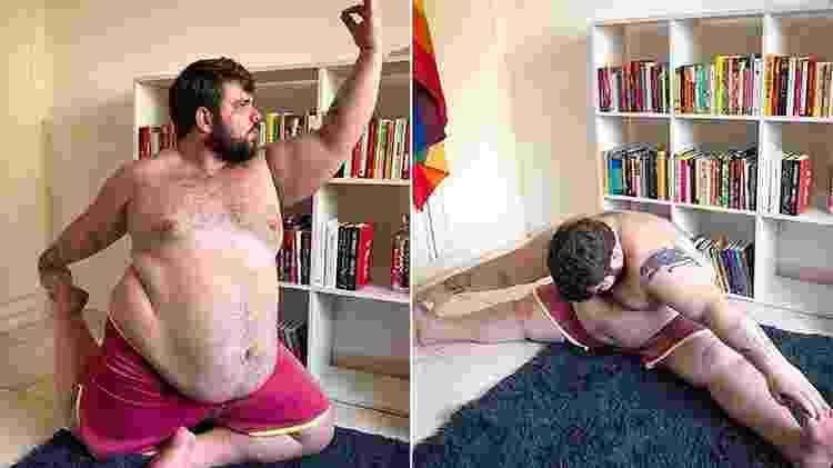 Mudança no corpo não alterou capacidades de Caio ao fazer exercícios  - Reprodução/Instagram  - Reprodução/Instagram