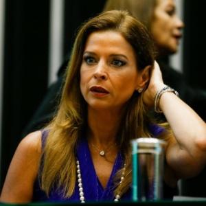 5.nov.2015 - Cláudia Cruz, mulher de Eduardo Cunha