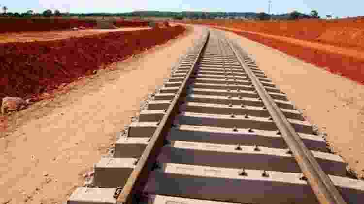 A ferrovia Norte-Sul está entre as ferrovias que serão leiloadas - Divulgação/Governo Federal - Divulgação/Governo Federal