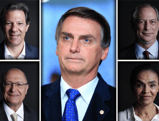 Resultado de imagem para Datafolha: Bolsonaro tem 28% das intenções de voto; Haddad tem 16%
